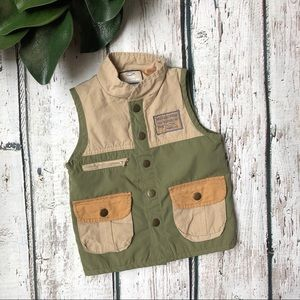 Fishers of Men Christian Fishing Vest Green 3T